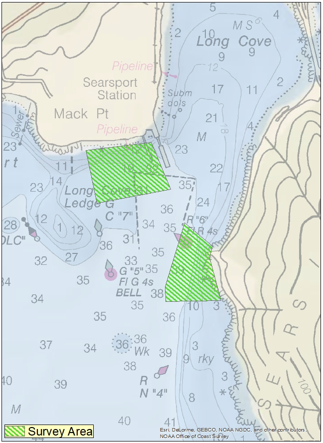 Searsport Survey Locations